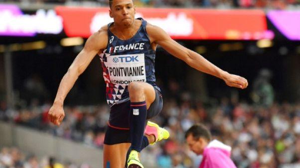 Athlétisme: Pontvianne en finale du triple saut, Compaoré et Raffin éliminés, aux Mondiaux