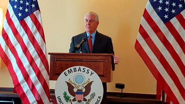 U.S. can talk to North Korea if it halts tests - Tillerson