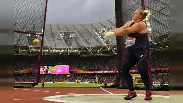 Athlétisme: Tavernier prend la 12e place de la finale du Marteau aux Mondiaux