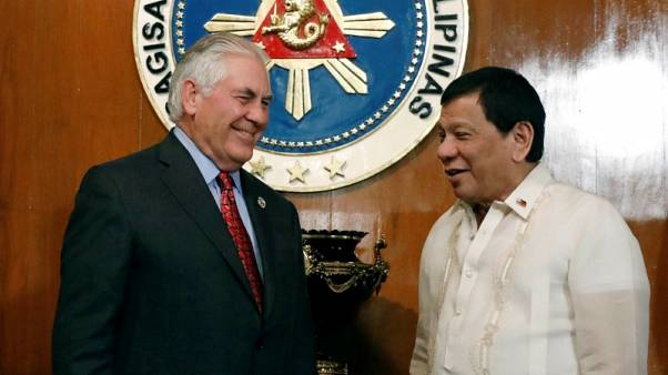'I'm your humble friend', Philippines' anti-U.S. leader tells Tillerson