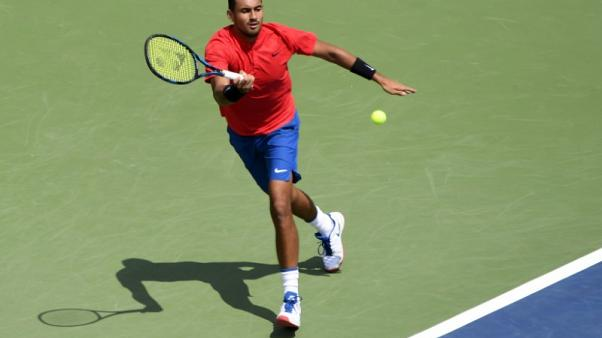 Hip holds as Kyrgios rolls on at Rogers Cup
