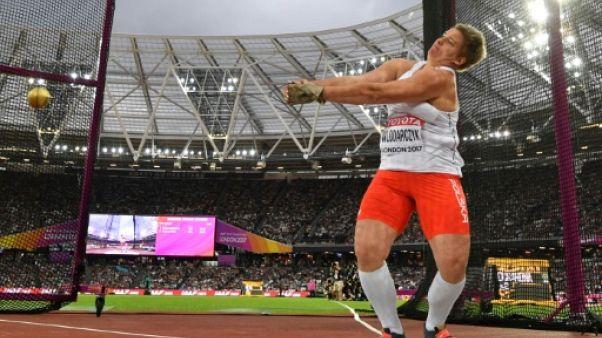 Athlétisme: la Polonaise Wlodarczyk conserve son titre mondial au marteau