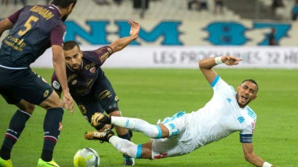 Marseille: Payet, blessé, forfait à Nantes et absent deux semaines