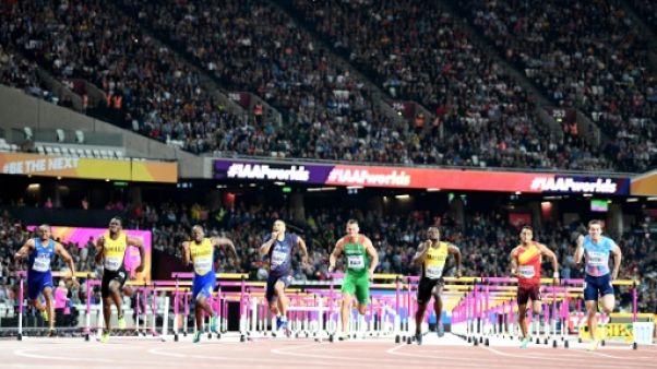 Athlétisme: Darien, 4e, échoue dans sa quête de podium sur 110 m haies aux Mondiaux