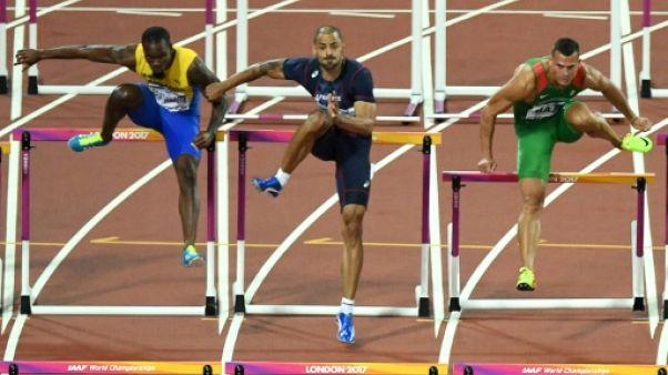 Athlétisme: Darien au pied du podium sur 110 m haies aux Mondiaux