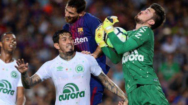 Espagne: Barcelone écrase Chapecoense pour son premier match post Neymar