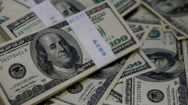 Dollar steadies as investors await U.S inflation data