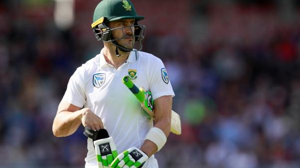 Cricket - Balanced England can win Ashes, says du Plessis