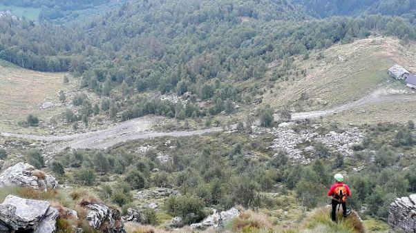 Escursionista disperso,ricerche in corso