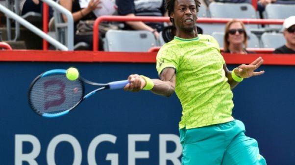 Tennis: Monfils et Gasquet  passent à Montréal, Pouille chute