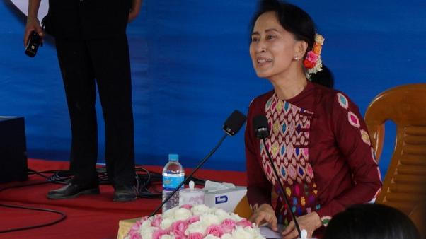 Myanmar's Suu Kyi turns to state media amid fears for newly gained freedoms