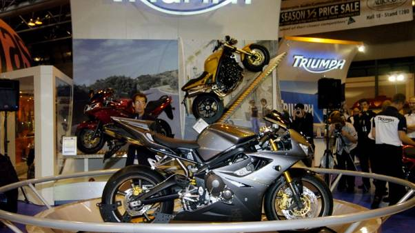 Bajaj Auto in pact with Triumph Motorcycles UK