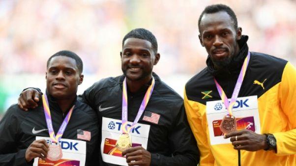 """Athlétisme: l'agent de Gatlin dénonce le traitement """"inhumain"""" de Coe et de l'IAAF"""