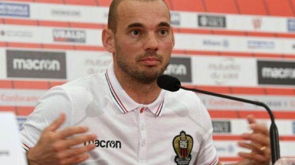 Nice: Sneijder indisponible pour le match vendredi