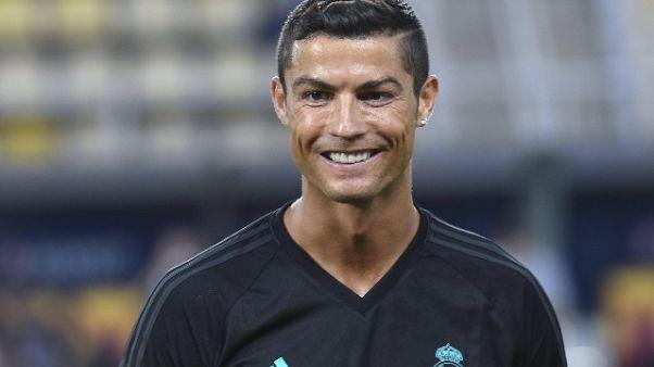 Supercoppa europea: nel Real fuori Cr7
