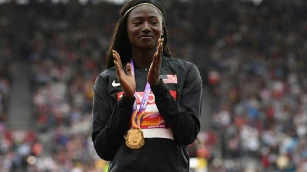 Athlétisme: l'Américaine Tori Bowie déclare forfait en séries sur 200 m