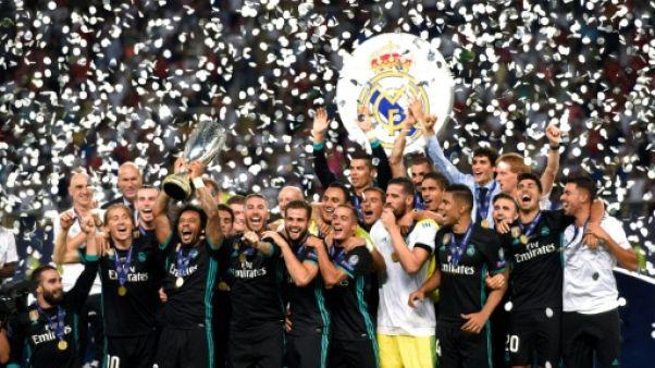 Zidane bat Mourinho, et le Real Madrid garde la Supercoupe d'Europe