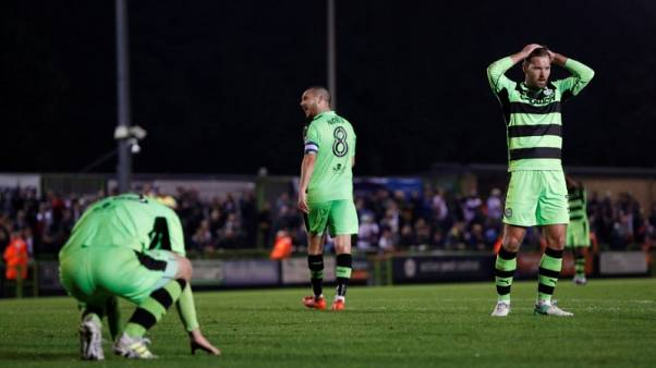 Green ethos makes England's Forest Green a big hit worldwide