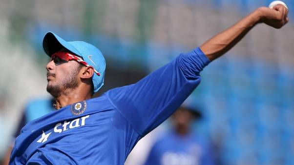 Cricket - India draft in Patel as Jadeja's replacement for Pallekele
