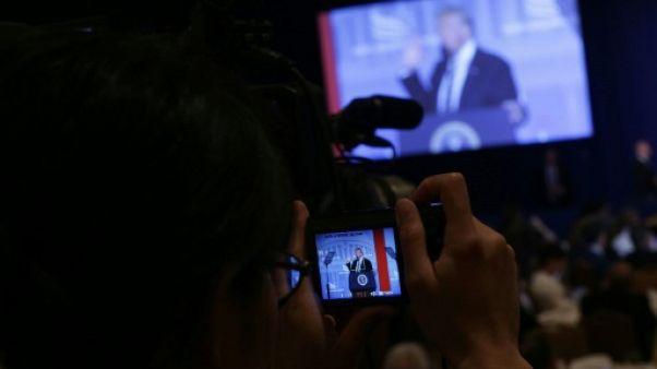 """Trump lance ses propres """"Real news"""" pour contrer les médias traditionnels"""