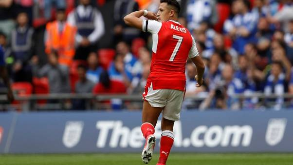 Arsenal's Sanchez out of opener due to abdominal strain