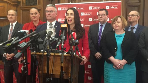 New Zealand Labour's new leader makes significant gains in election race