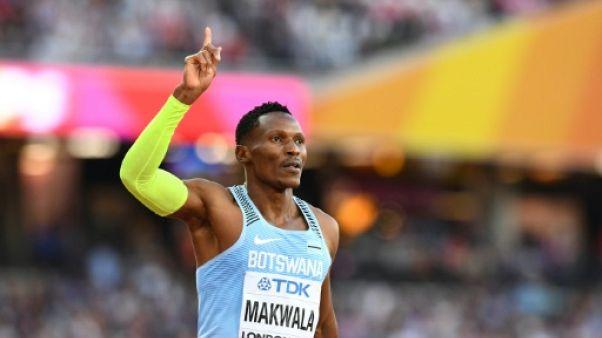 Athlétisme: Makwala finalement autorisé à courir le 200 m des Mondiaux