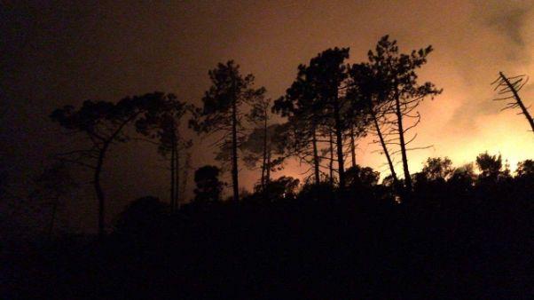 Altro vasto incendio Appennino modenese