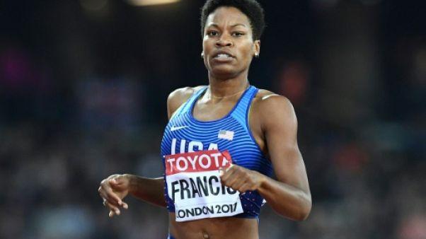 Athlétisme: l'Américaine Phyllis Francis sacrée championne du monde du 400 m