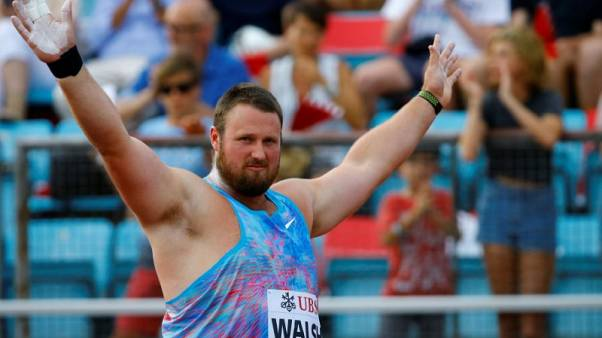 Shotputter Walsh won world title with groin tear