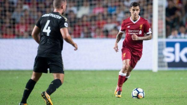 Transfert: Liverpool rejette les 100 millions d'euros de Barcelone pour Coutinho