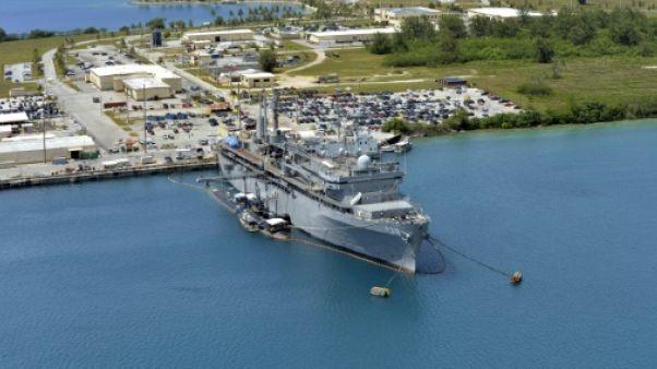 """Guam """"parfaitement équipé"""" face à la menace nord-coréenne"""