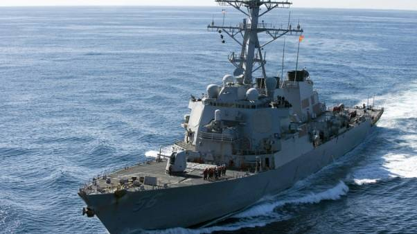 Exclusive - U.S. destroyer challenges China's claims in South China Sea