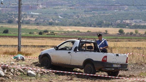Agguato Puglia: indagini, interrogatori