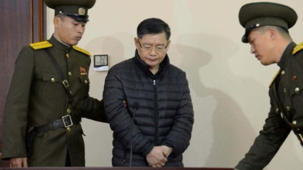 Libéré de Corée du Nord, le pasteur en route vers le Canada