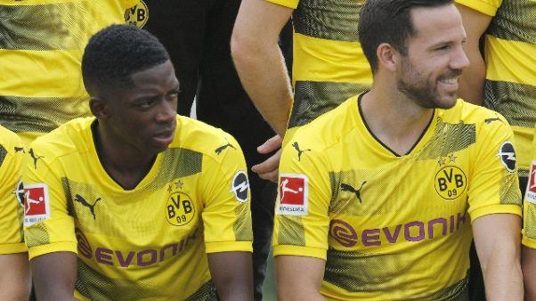 Borussia Dortmund, Dembelè non si allena