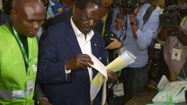 """Kenya: Odinga doit être """"déclaré vainqueur"""", selon l'opposition"""