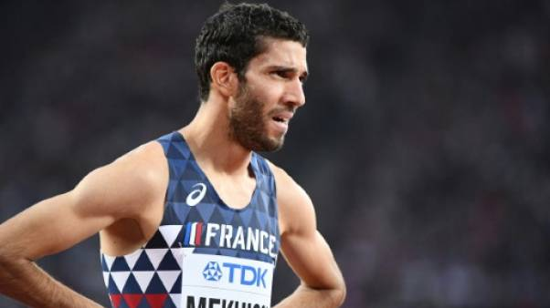 Athlétisme: Mekhissi éliminé dès les séries du 1500 m à Londres