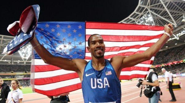 Athlétisme: l'Américain Christian Taylor sacré champion du monde du triple saut