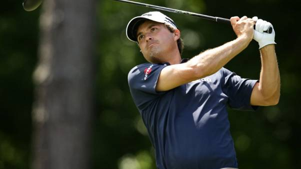 Co-leader Kisner carries out master plan at PGA Championship