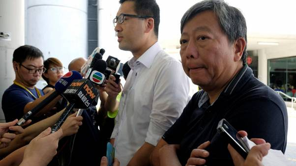 Hong Kong democracy activist says he was 'stapled' by Chinese agents