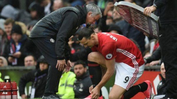 """Angleterre: Mourinho et Ibrahimovic en """"discussions"""" pour un retour à ManU"""