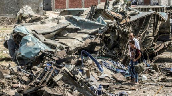 Egypte: 41 morts dans un accident de trains