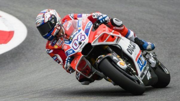 Moto: Dovizioso (Ducati) le plus rapide des deux séances d'essais libres
