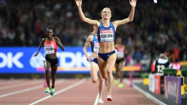 Athlétisme: l'Américaine Emma Coburn sacrée sur 3.000 m steeple