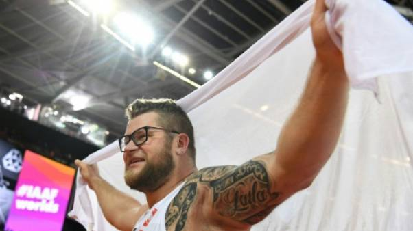Athlétisme: le Polonais Pawel Fajdek décroche un troisième titre au marteau