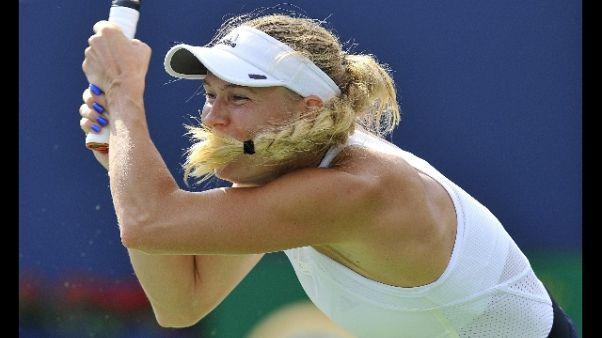 Wta Toronto, Wozniacki elimina Pliskova