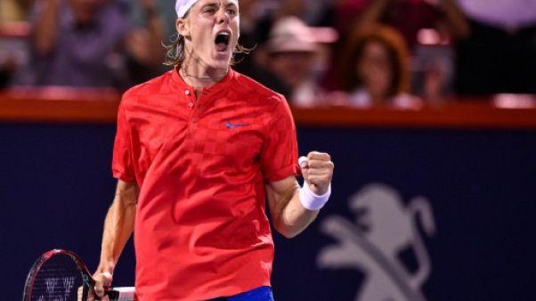 Tennis: Denis Shapovalov demi-finaliste à Montréal