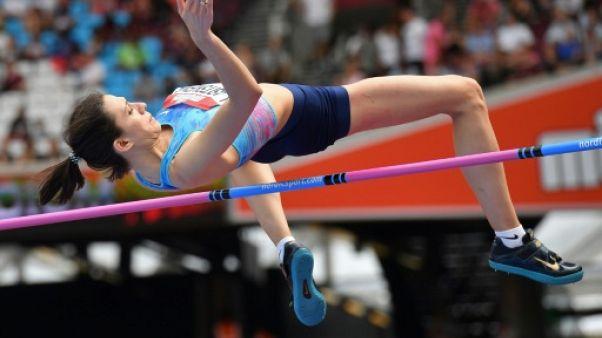 Athlétisme: Maria Lasitskene, hauteur, en mission