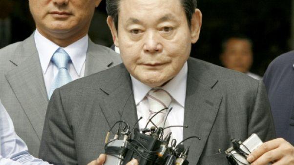 CIO: le président de Samsung, malade, se retire